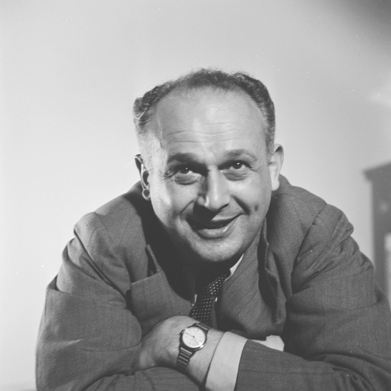 Moshe Feldenkrais portrait